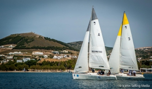 Hellenic Match Racing Tour Πάρος 1η ημέρα
