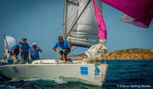 Hellenic Match Racing Tour Παρος 2015 - Ημέρα 2η